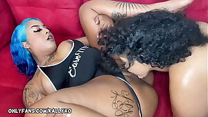 Simone Richards Humps  Me With her Long Strap