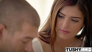 TUSHY First Assfuck For Step Sister Leah Gotti