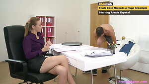 Female Agent, Best Penetrates on her Casting Couch, Compilation