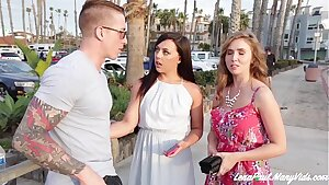 Lena Paul And Whitney Wright Share Boyfriend Nathan Red's Man rod