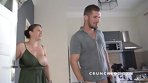 real sexy french straight fucked a twunk gay  by surprise of