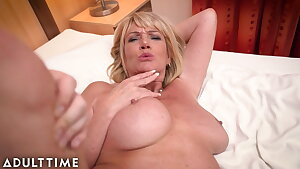ADULT TIME – Big Jugged Gilf Gets Fucked By A Lucky Stud