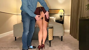 luxury girl has bodycon hotel sex - projectsexdiary