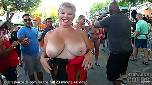 last day and night of dream fest from key west florida hot girls naked in the streets