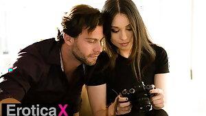 Cameraman Liv Wild Occupies Seth's Cock - EroticaX