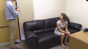 Young College Girl Haley Gets A Hot Rectal Porn Audition!