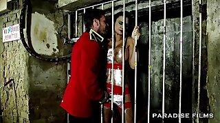 PARADISE FILMS Jasmine Jae is a Creampied sex slave
